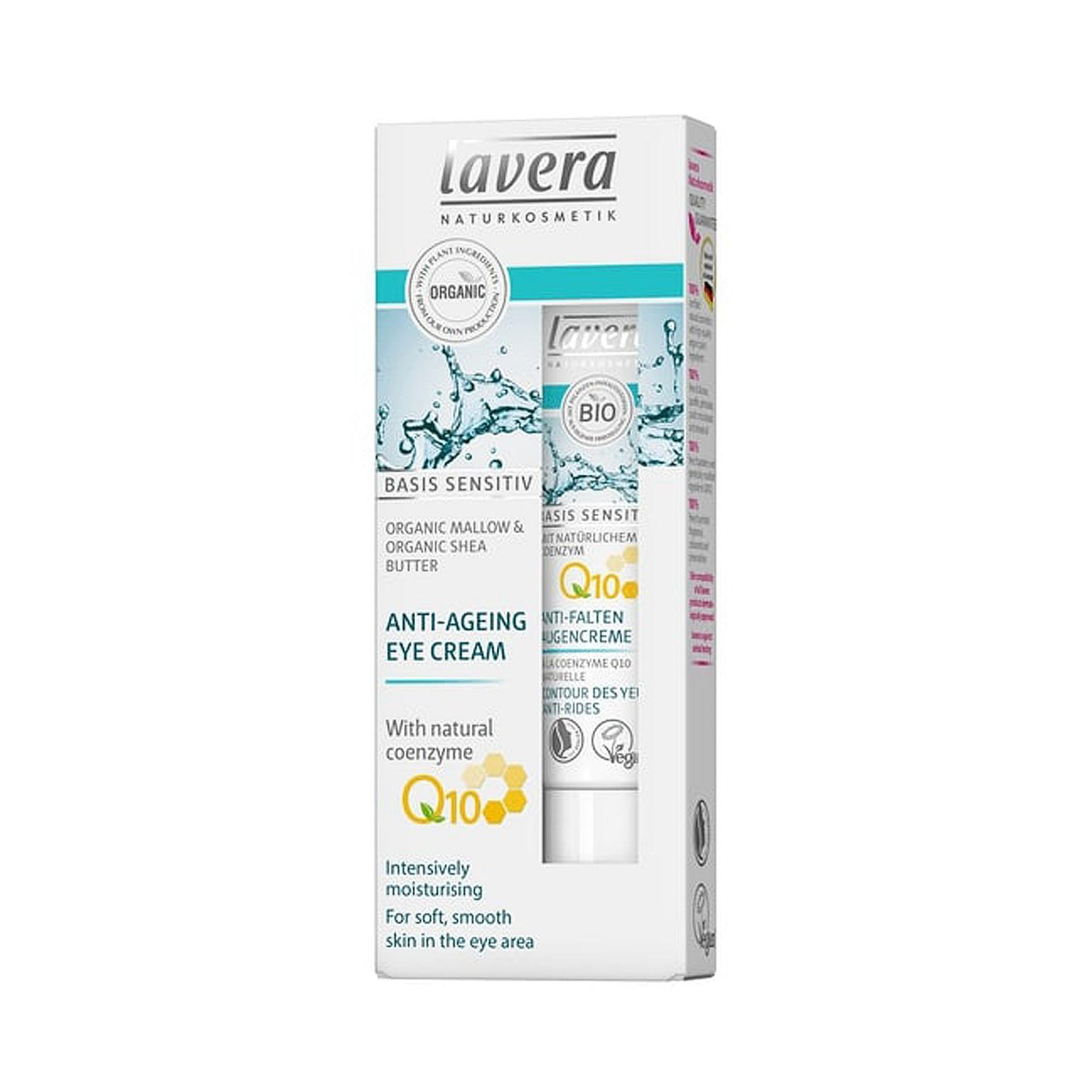 Lavera Oční krém Q10, Basis Sensitive 15 ml