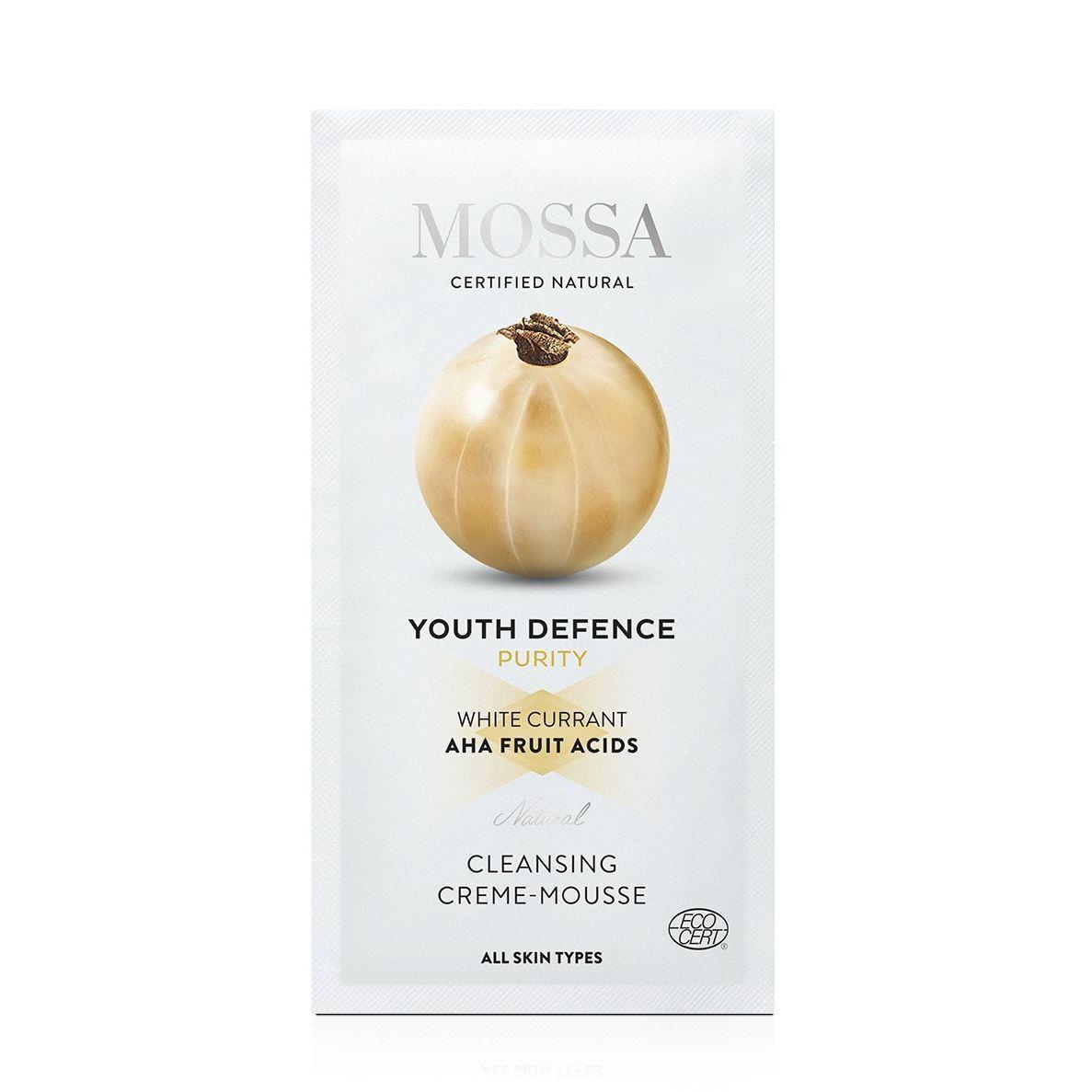 Mossa Čisticí krémová pěna, Youth Defence 5 ml