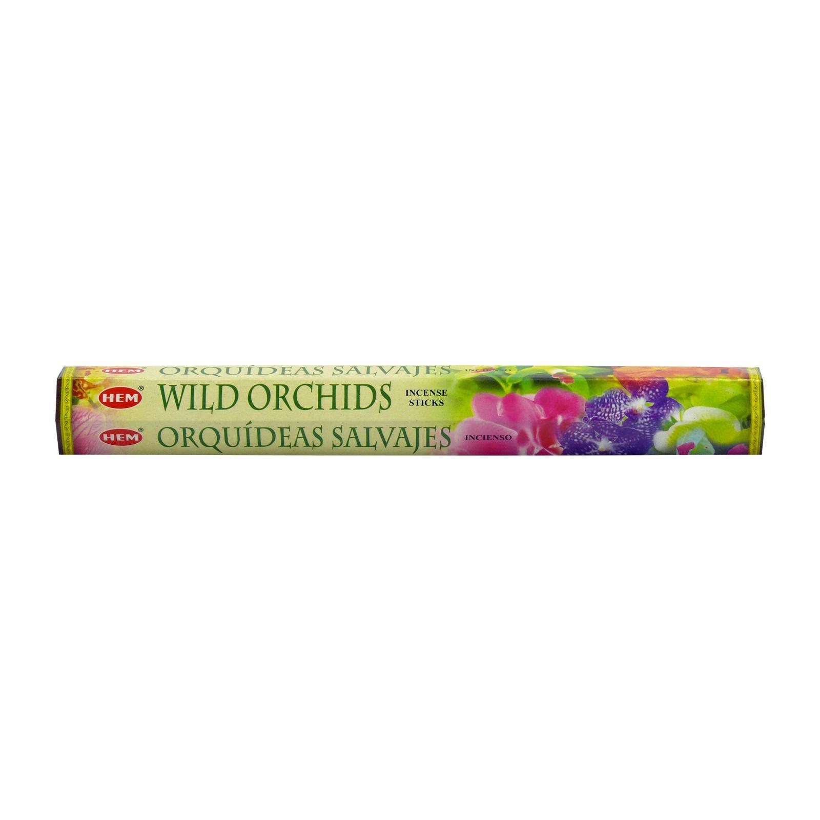 Hem Vonné tyčinky indické Wild Orchids 20 - 30 ks