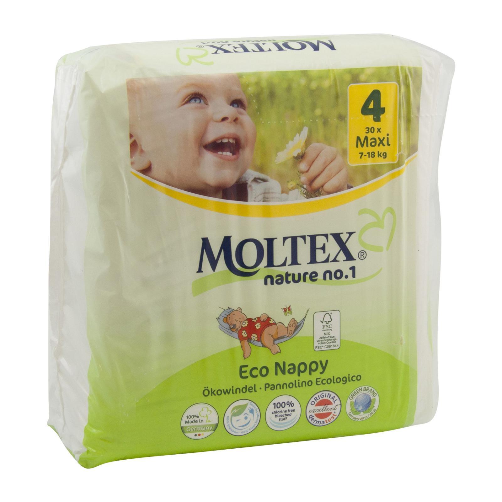 Moltex Dětské plenky Maxi 7-18 kg 30 ks