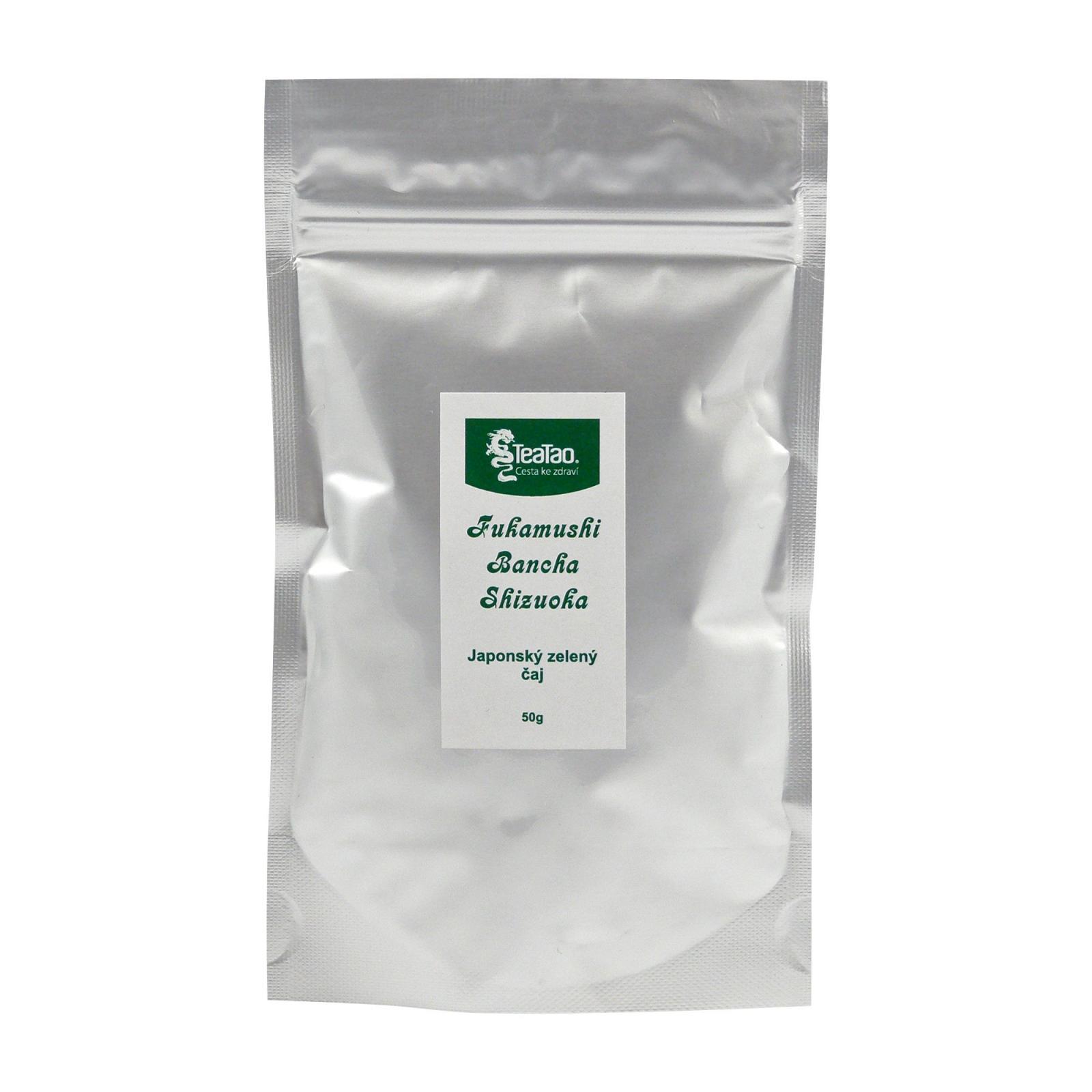 TeaTao Zelený čaj Fukamushi Bancha Shizuoka 50 g