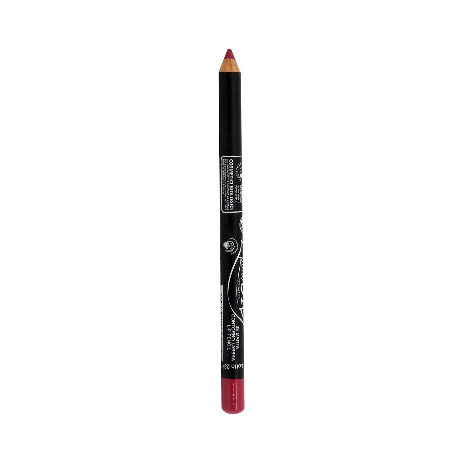 puroBIO cosmetics Konturovací tužka na rty 38 Strawberry 1,3 g