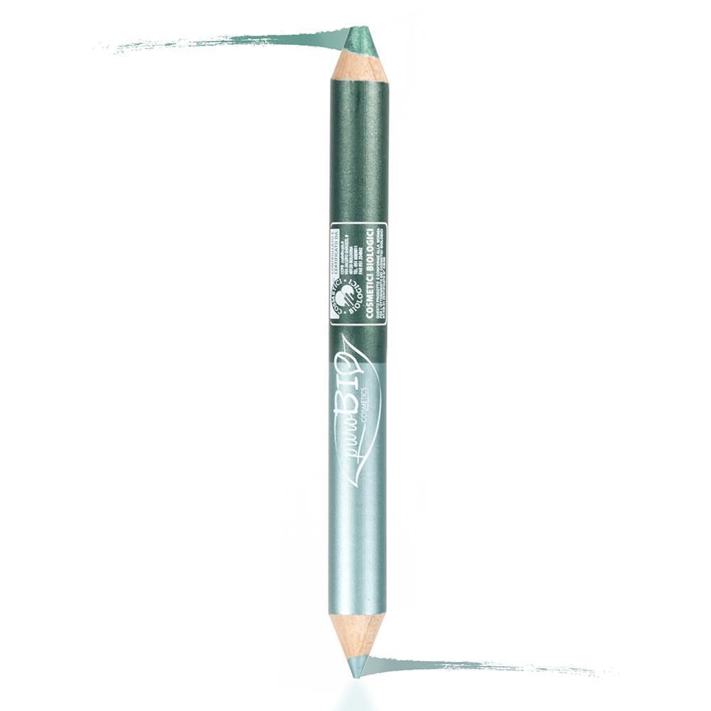 puroBIO cosmetics Dvojitá tužka na oči 02 Night 2,8 g