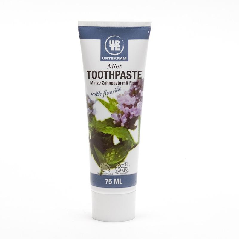 Urtekram x Zubní pasta s mátou a fluorem 75 ml