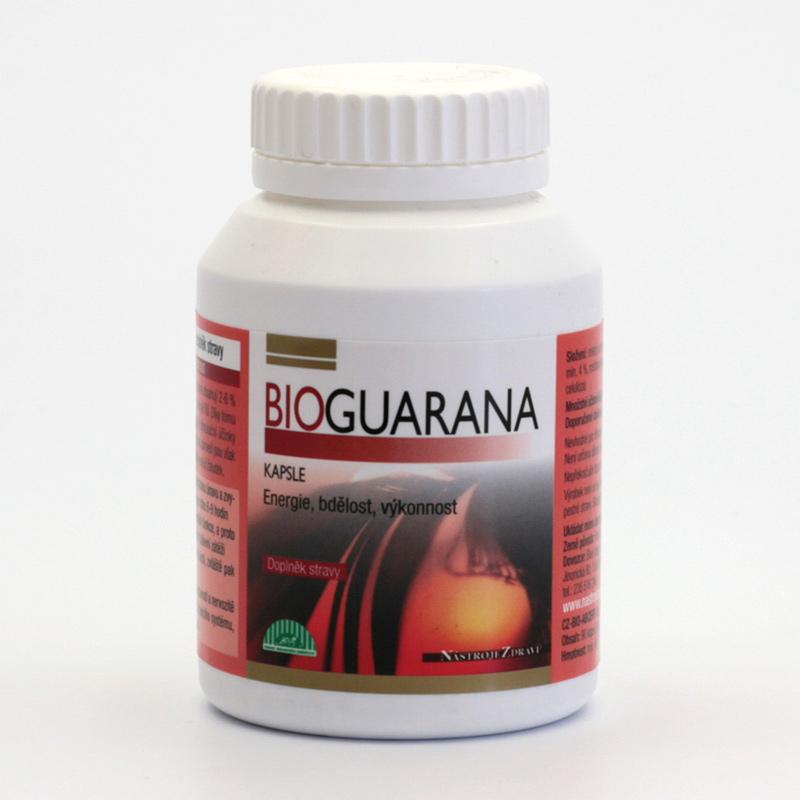 Nástroje Zdraví Guarana bio, kapsle 45 g, 90 ks