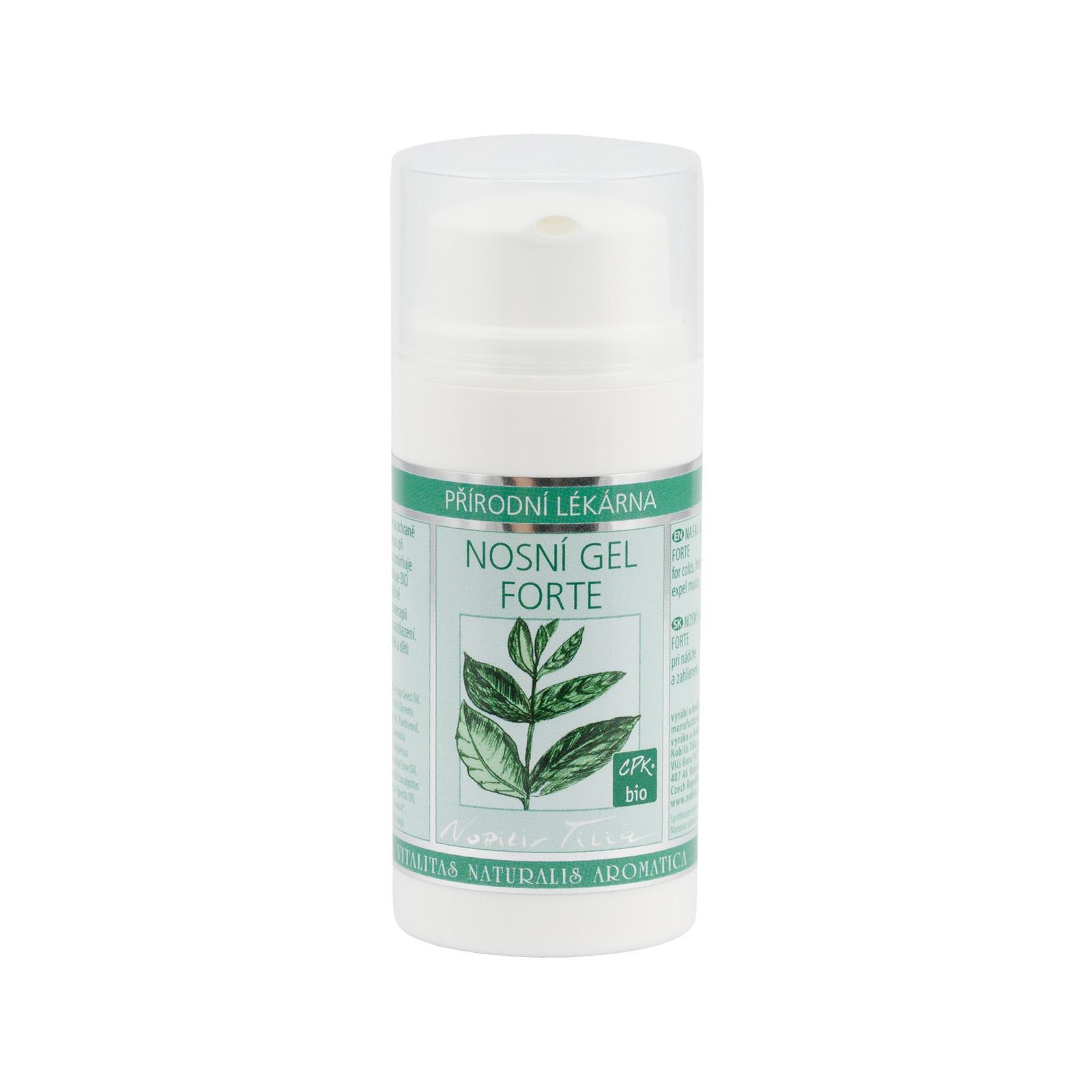 Nobilis Tilia Nosní gel Forte 30 ml