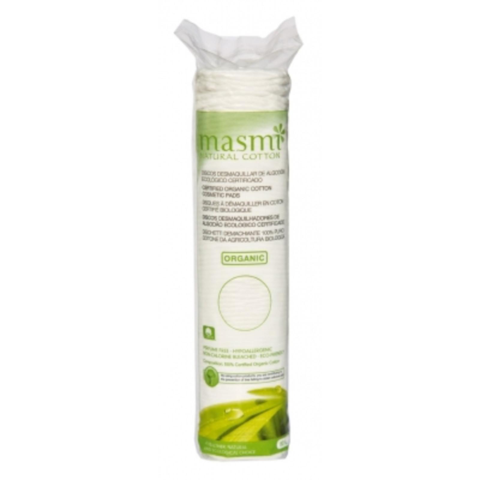 Masmi Kosmetické vatové polštářky z organické bavlny 80 ks