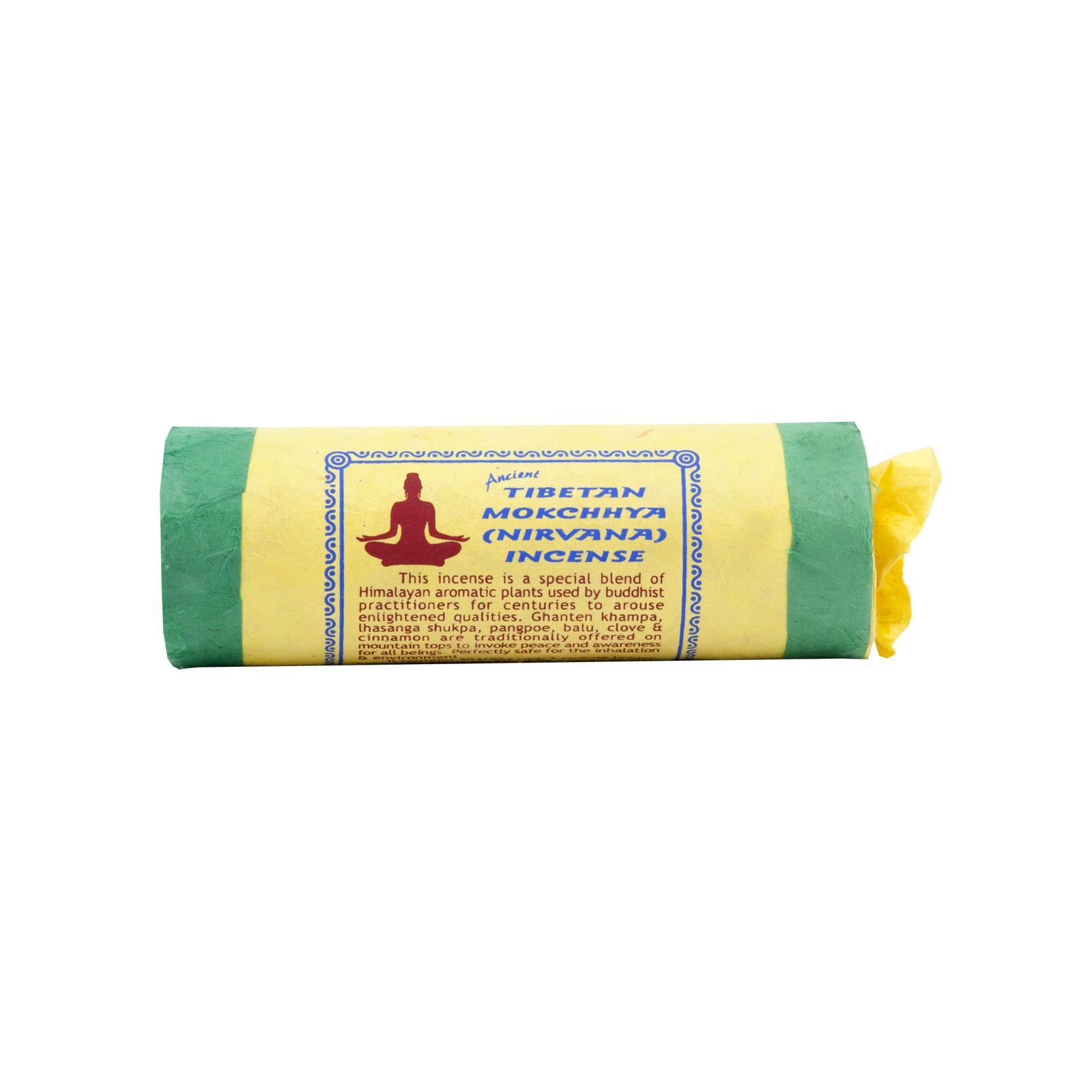 Mandala Art & Incense Vonné tyčinky tibetské Mokchhya (Nirvana) 30 ks, stojánek