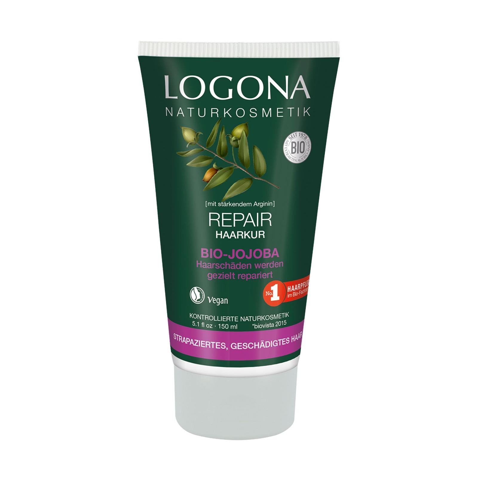 Logona Kúra vlasová regenerační, jojoba 150 ml
