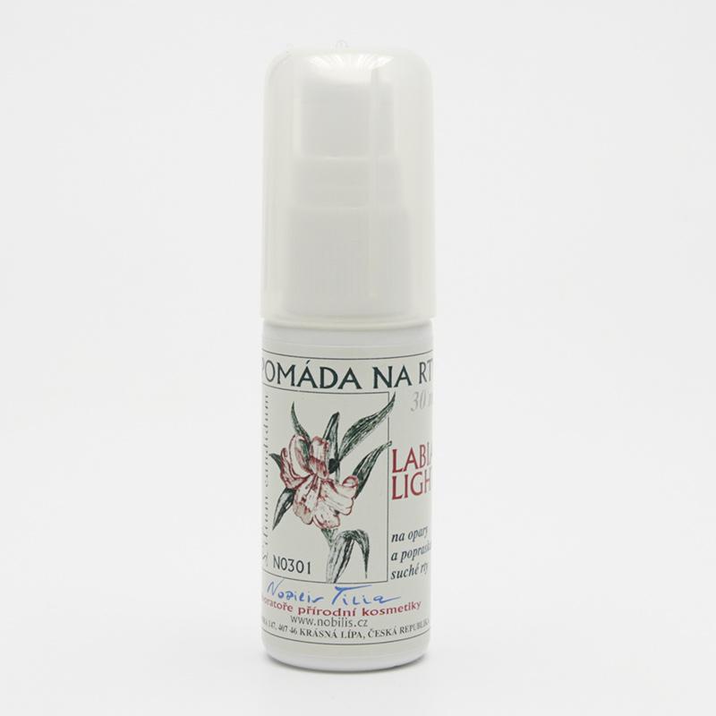 Nobilis Tilia Pomáda na opary a popraskané rty, Labia Light 30 ml