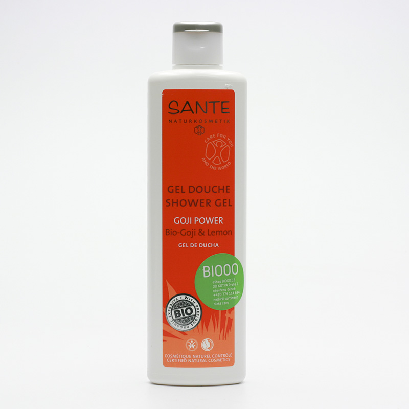 Santé Sprchový gel Goji Power bio goji a citron 200 ml