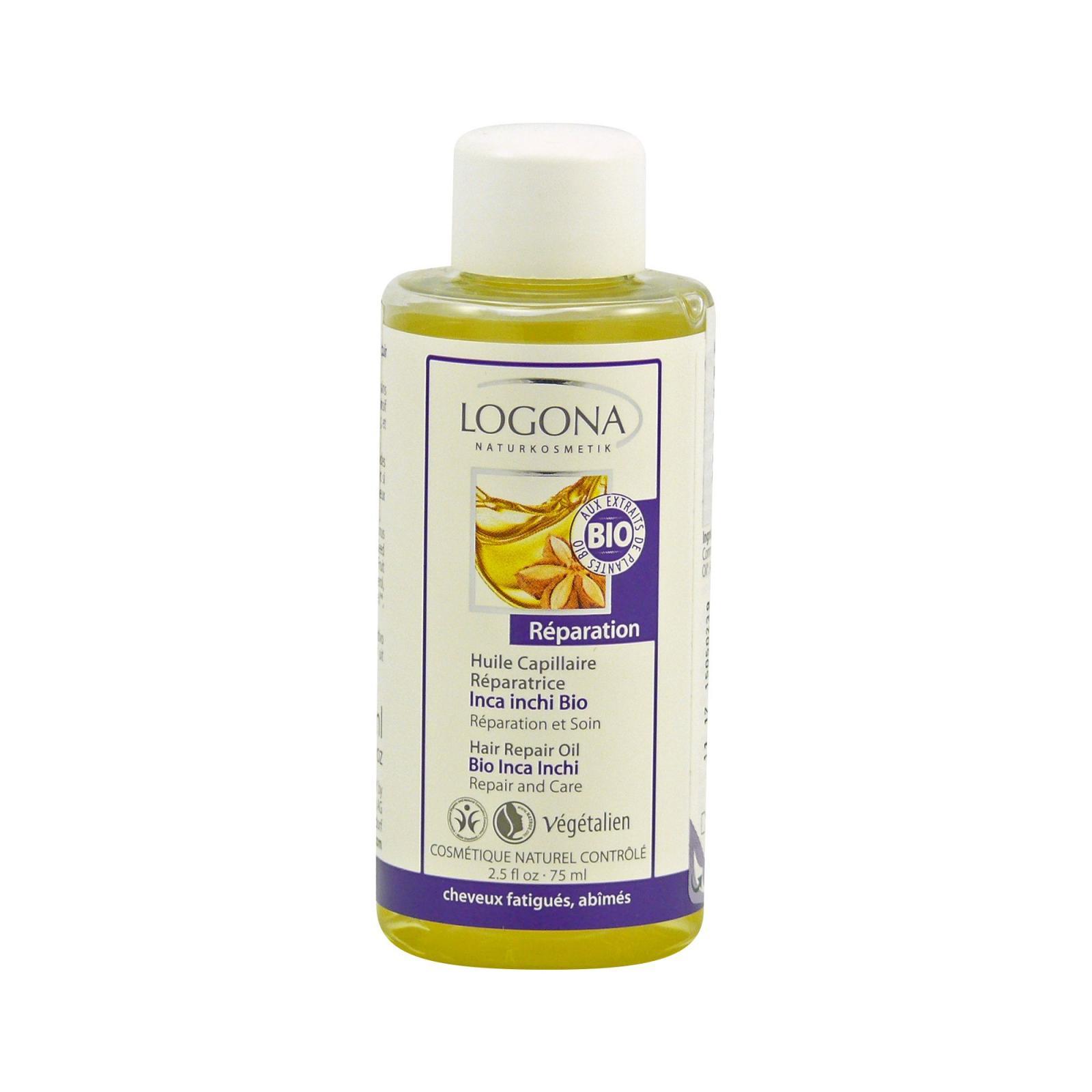 Logona Regenerační vlasový olej Bio Inca Inchi 75 ml