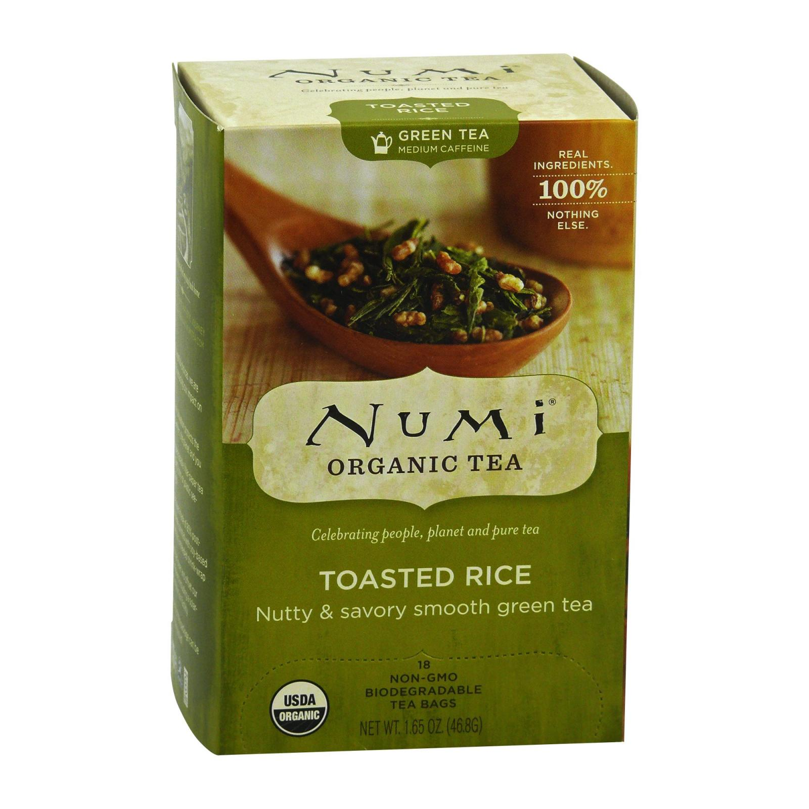 Numi Zelený čaj Toasted Rice 18 ks, 46,8 g