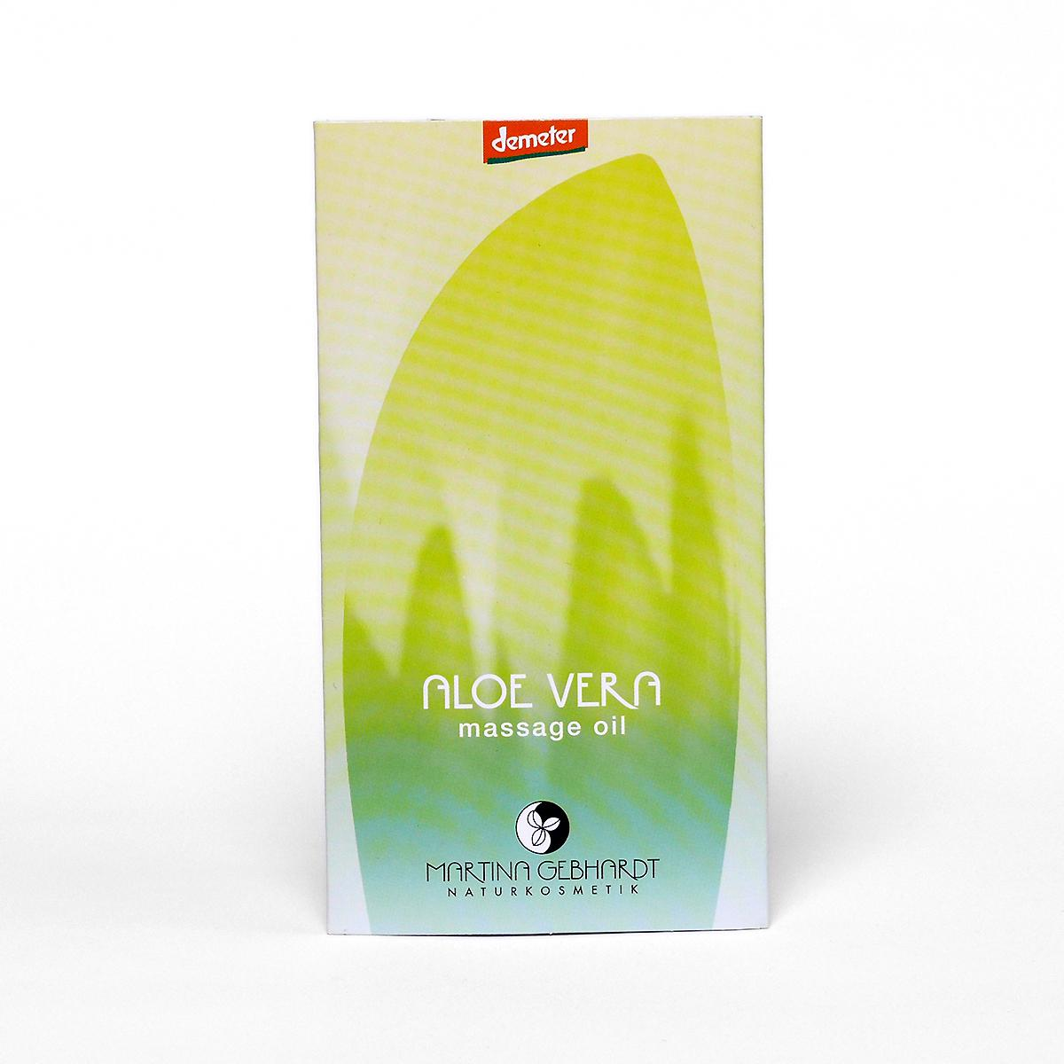 Martina Gebhardt Masážní olej aloe vera 2 ml