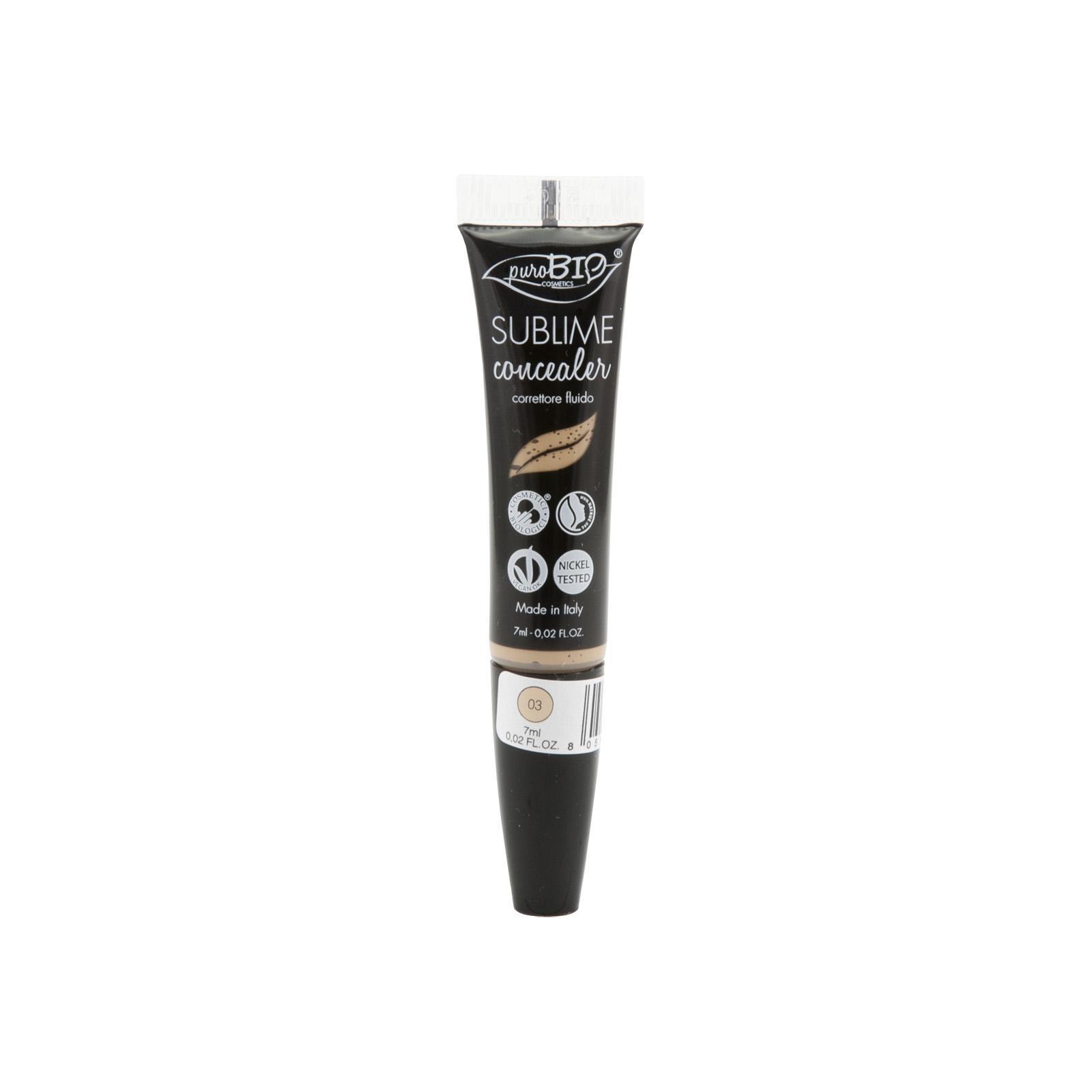puroBIO cosmetics Korektor tekutý 03 7 ml