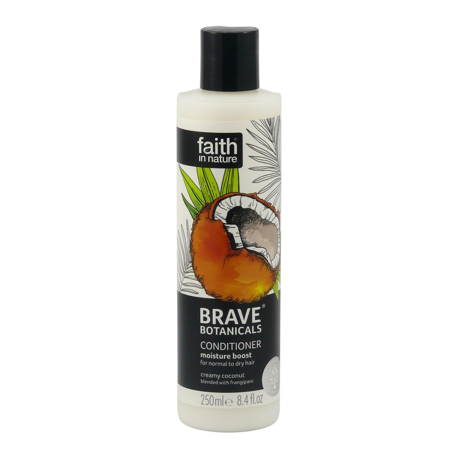 Faith in Nature Kondicionér kokos & plumérie, Brave 250 ml