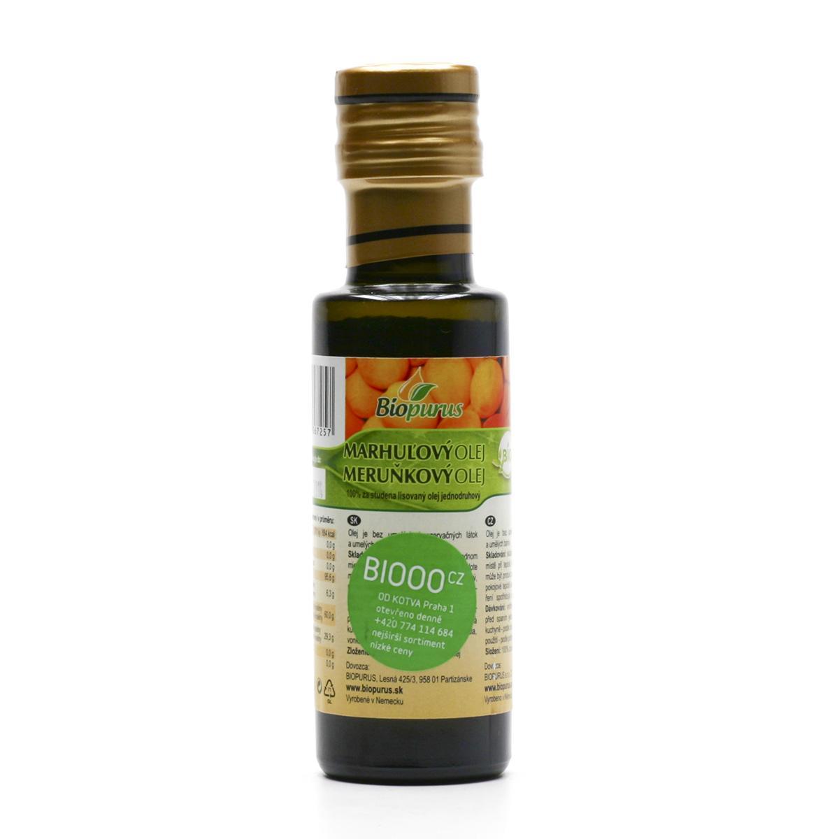 Biopurus Meruňkový olej bio 100 ml