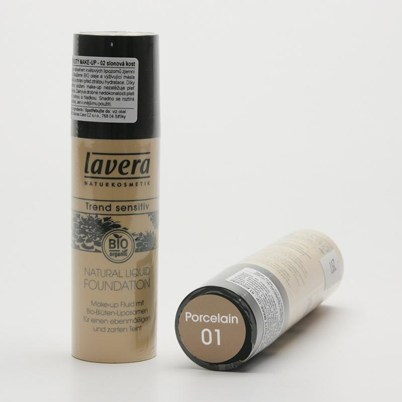 Lavera Make-up tekutý 01 porcelán, Trend Sensitiv 30 ml