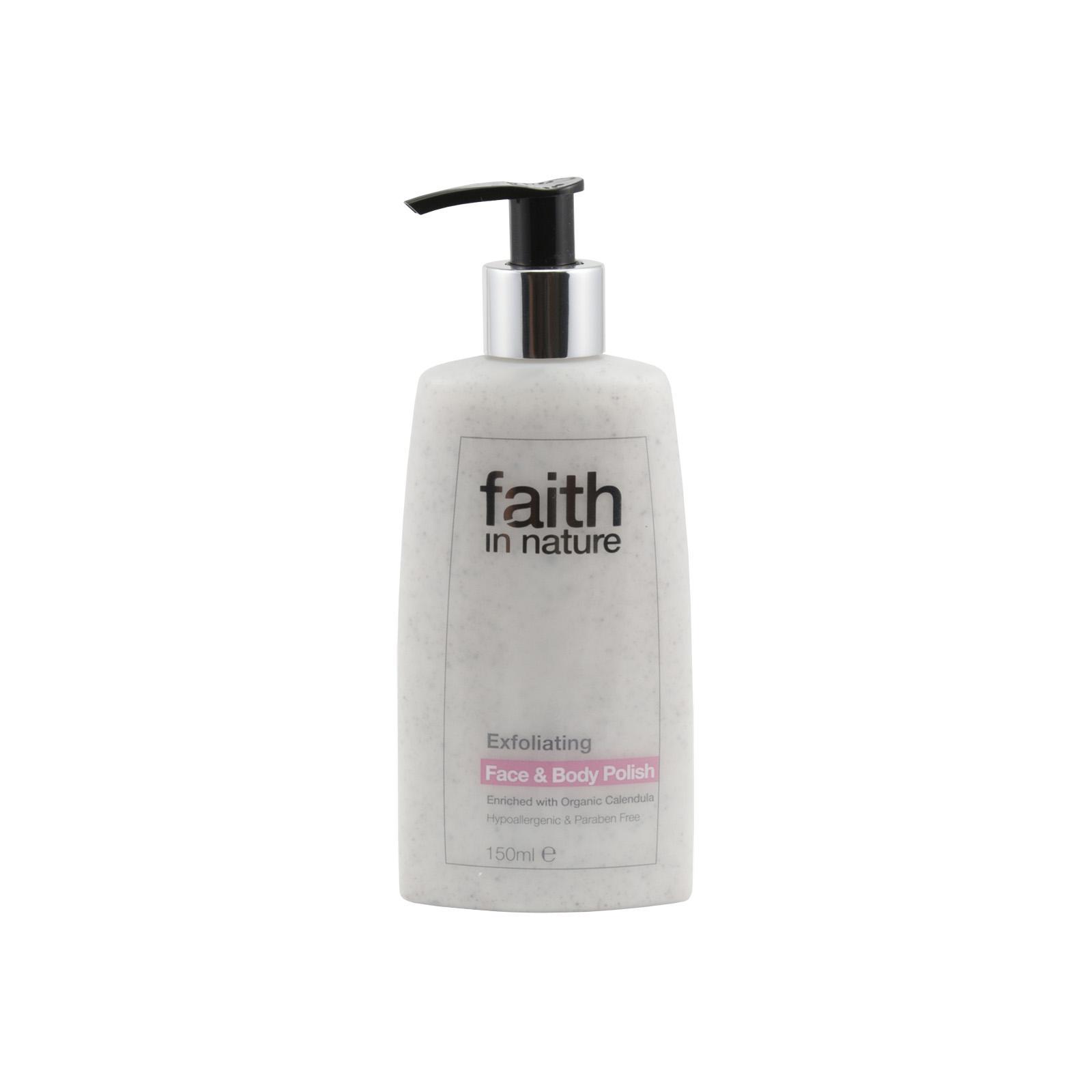 Faith in Nature Peeling na obličej a tělo 150 ml
