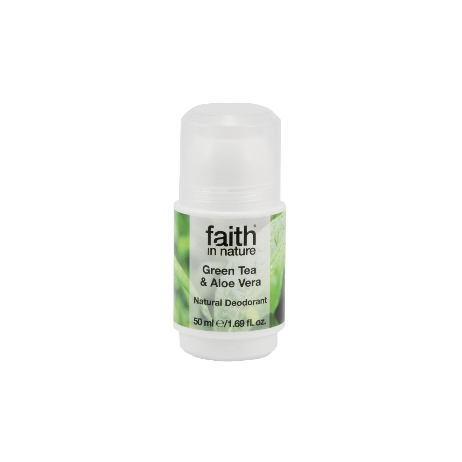 Faith in Nature Deo kulička green tea 50 ml