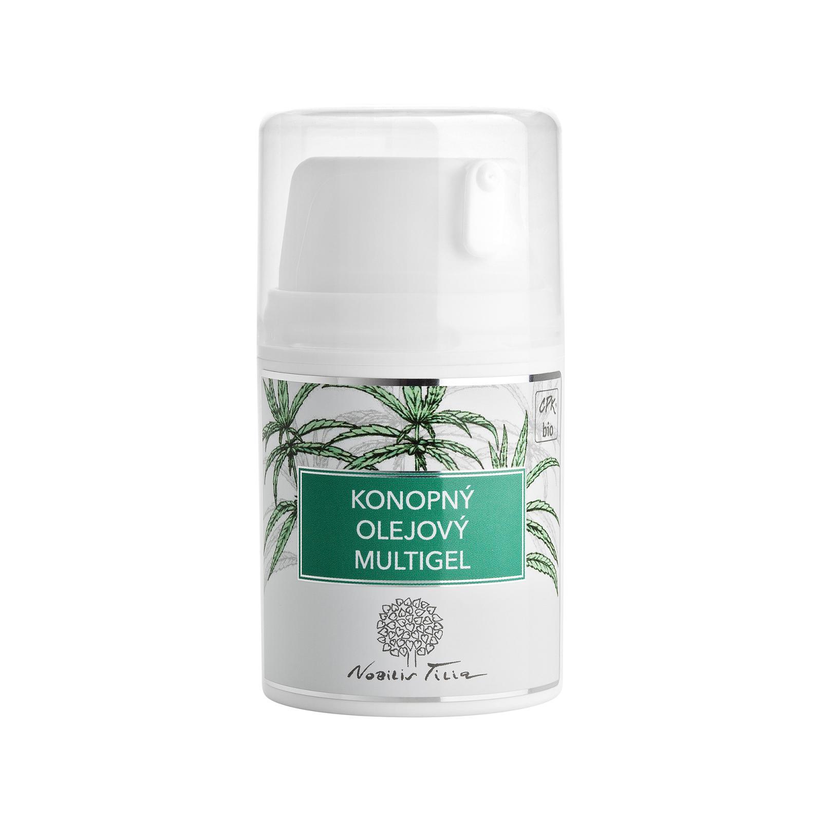 Nobilis Tilia Konopný olejový multigel 50 ml