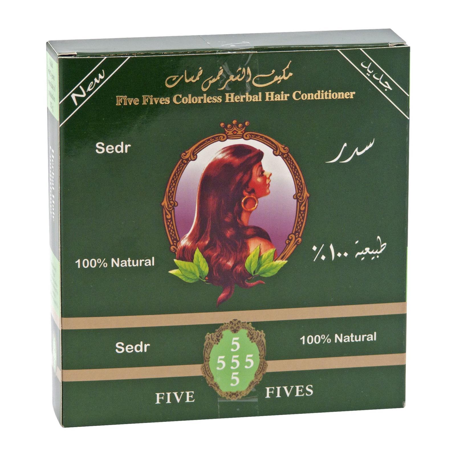 Five Fives Henna Lamda sedr, bezbarvý regenerační zábal 100 g