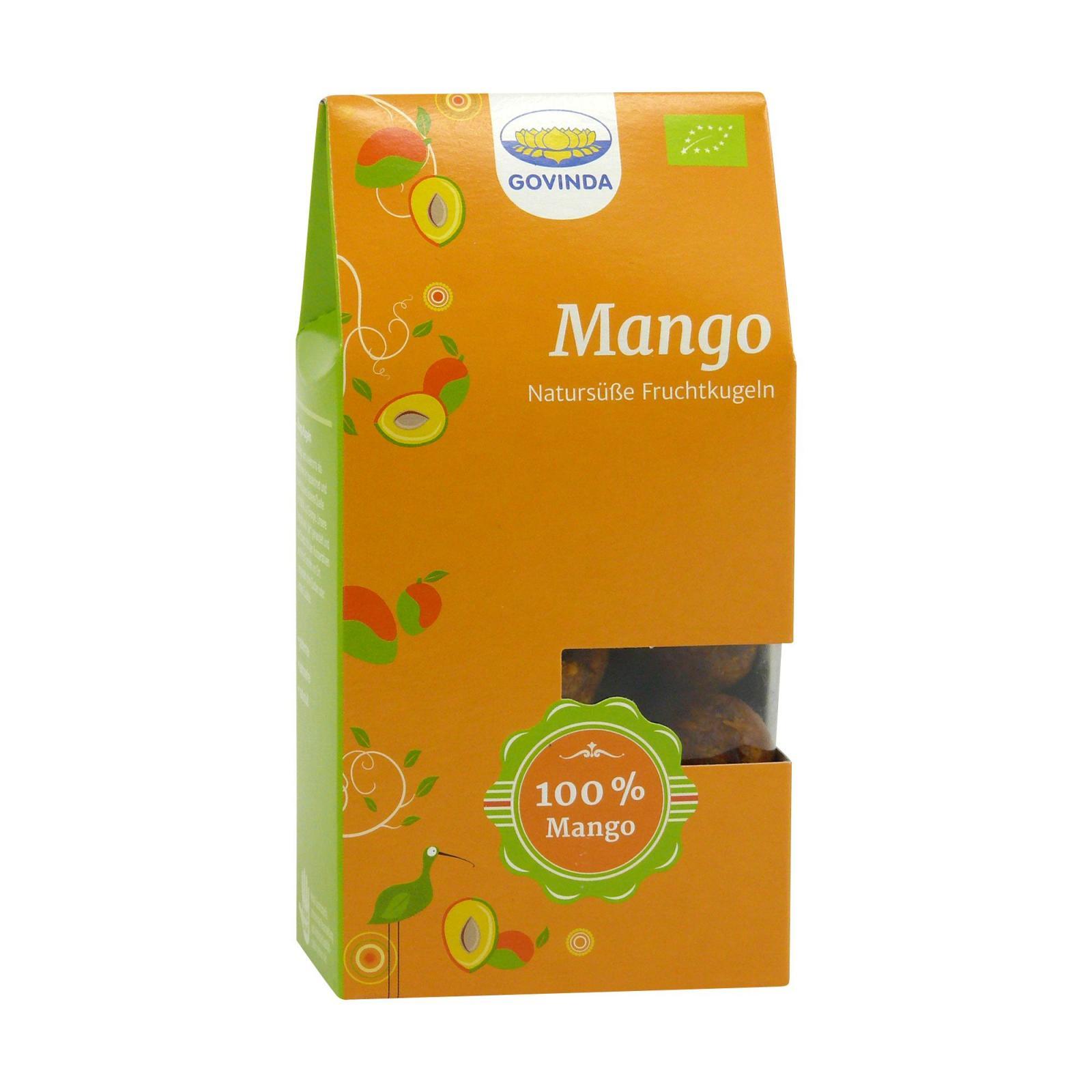 Govinda Mangové kuličky, Bio 120 g