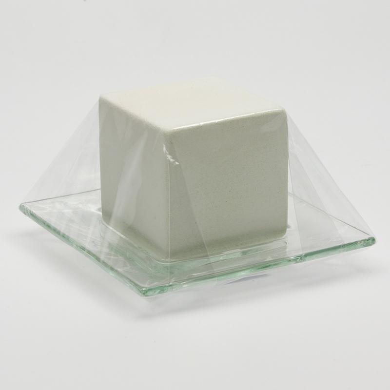Hanna Maria Keramická kostka se sklem, velká 7x7 cm
