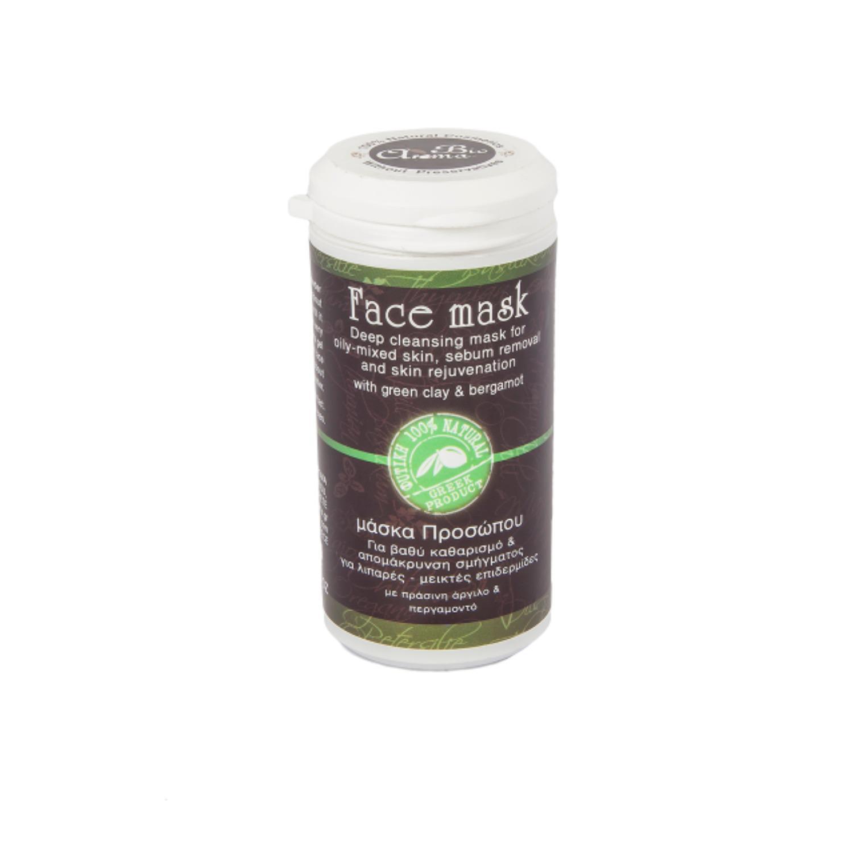 BioAroma Čistící maska se zeleným jílem 40 g
