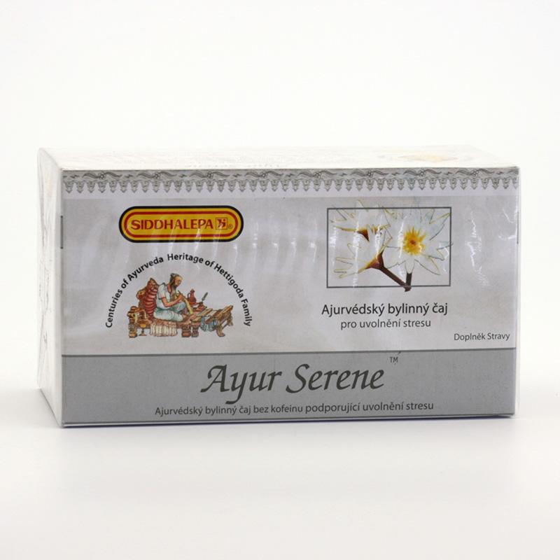 Siddhalepa Ayur Serene, čaj pro uvolnění stresu 20 ks, 40 g