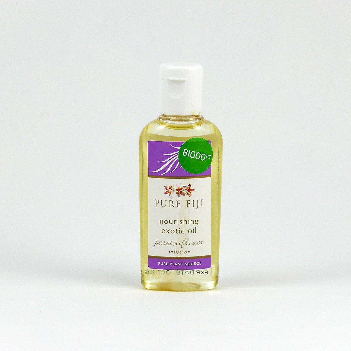 Pure Fiji Exotický masážní a koupelový olej, mučenka 29 ml