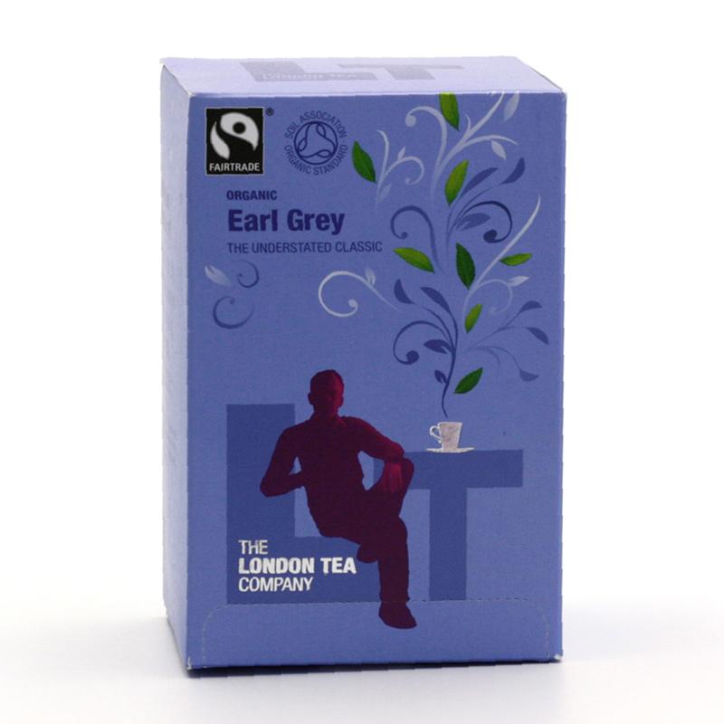 London Tea Výprodej Čaj černý Earl Grey 20 ks, 40 g