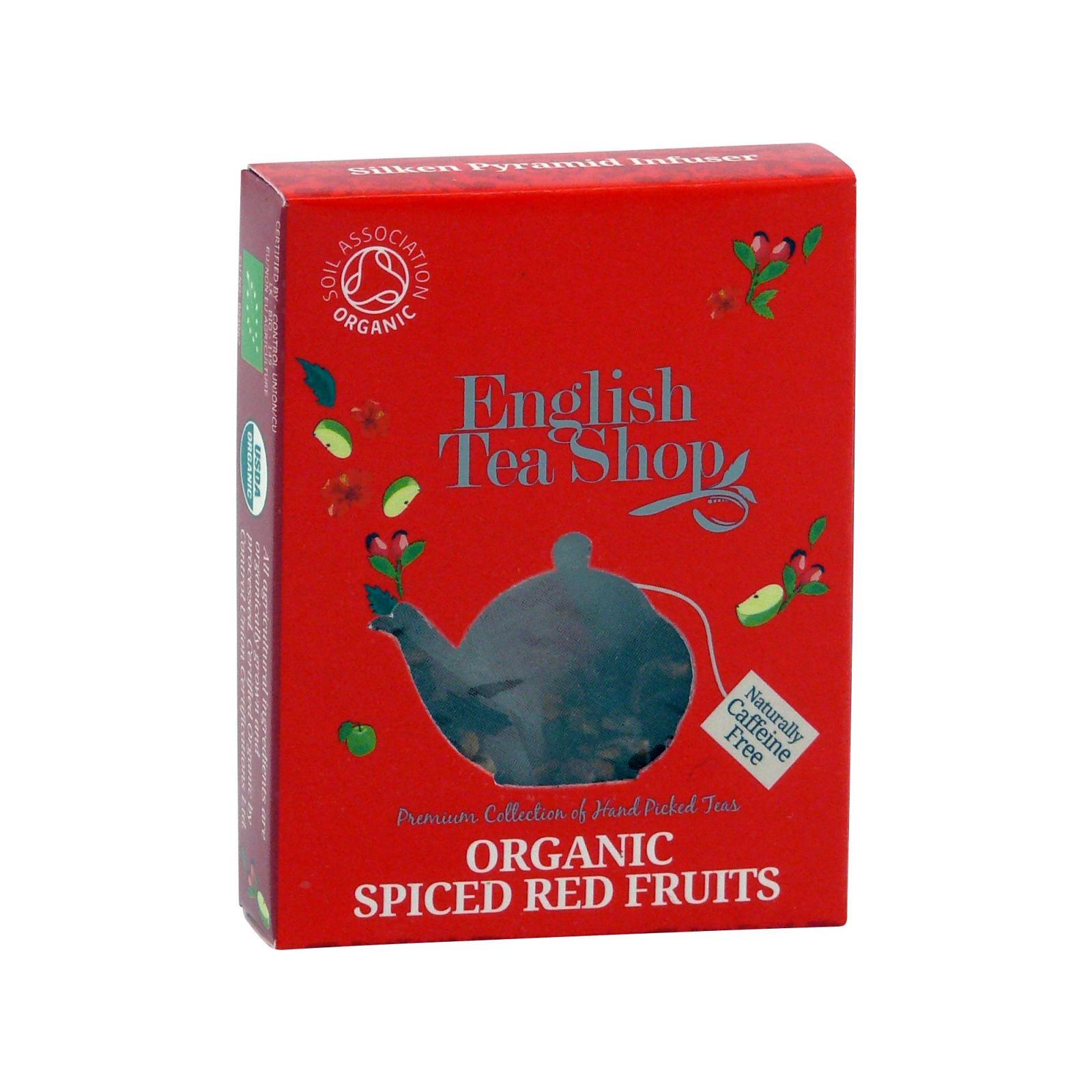 English Tea Shop Kořeněné červené ovoce, bio 2 g, 1 ks