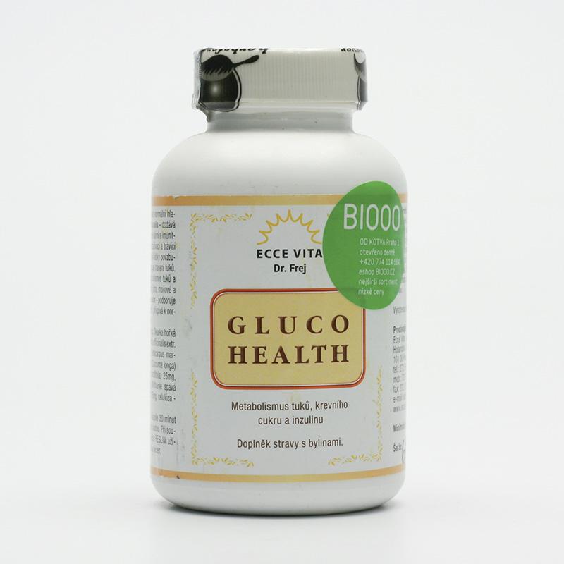 Ecce Vita Gluco Health, kapsle 130 ks