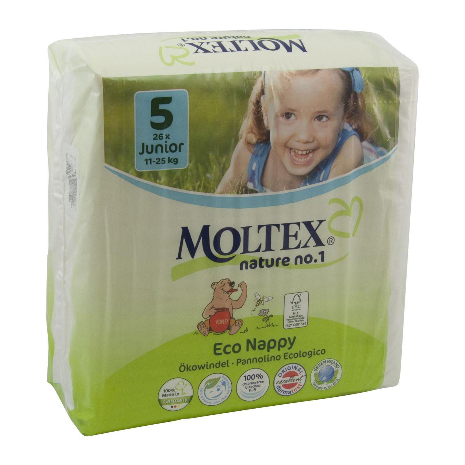 Moltex Dětské plenky Junior 11-25 kg 26 ks