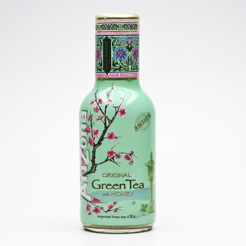 AriZona Ledový zelený čaj s ženšenem a medem 473 ml