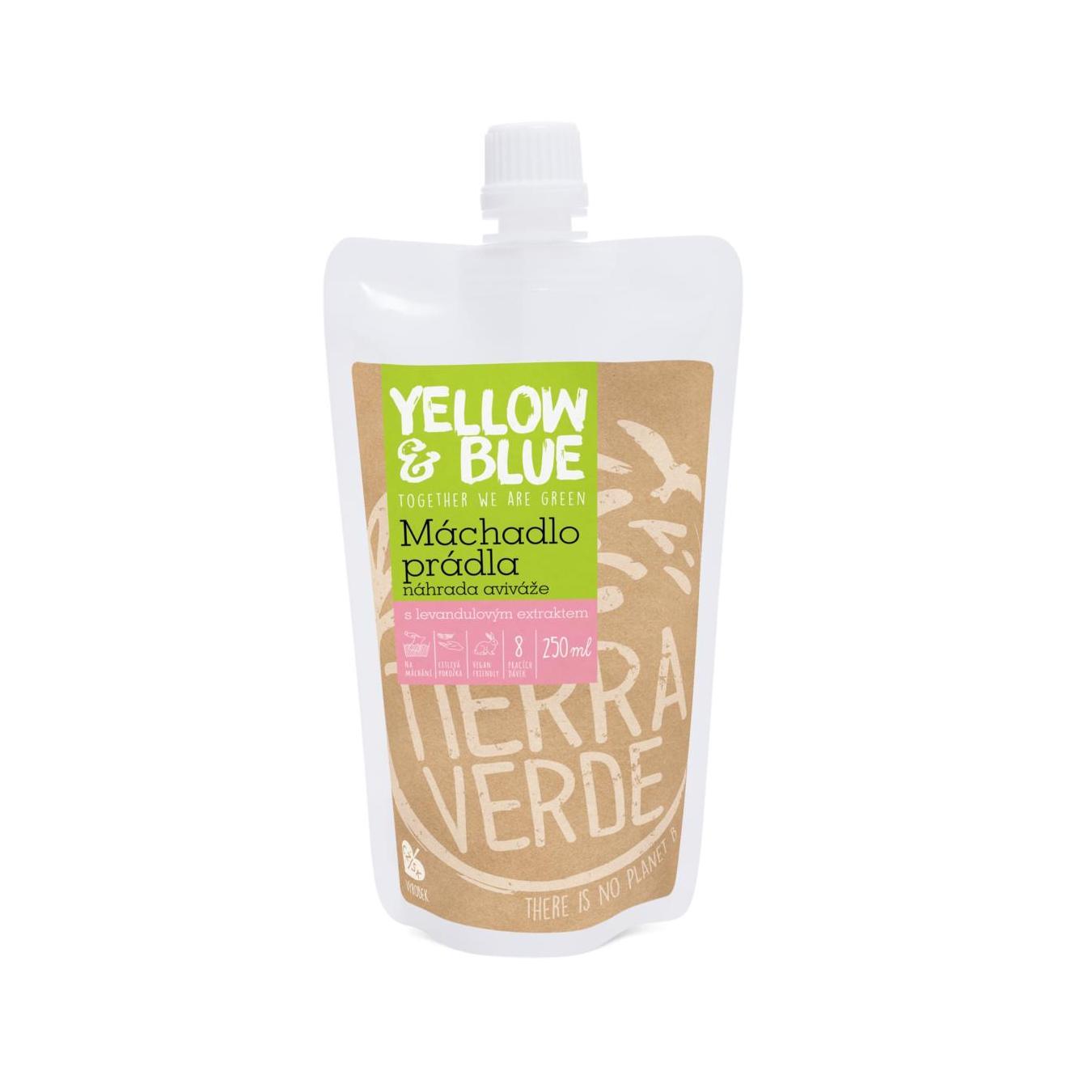 Yellow and Blue Máchadlo prádla L´vandu love 250 ml
