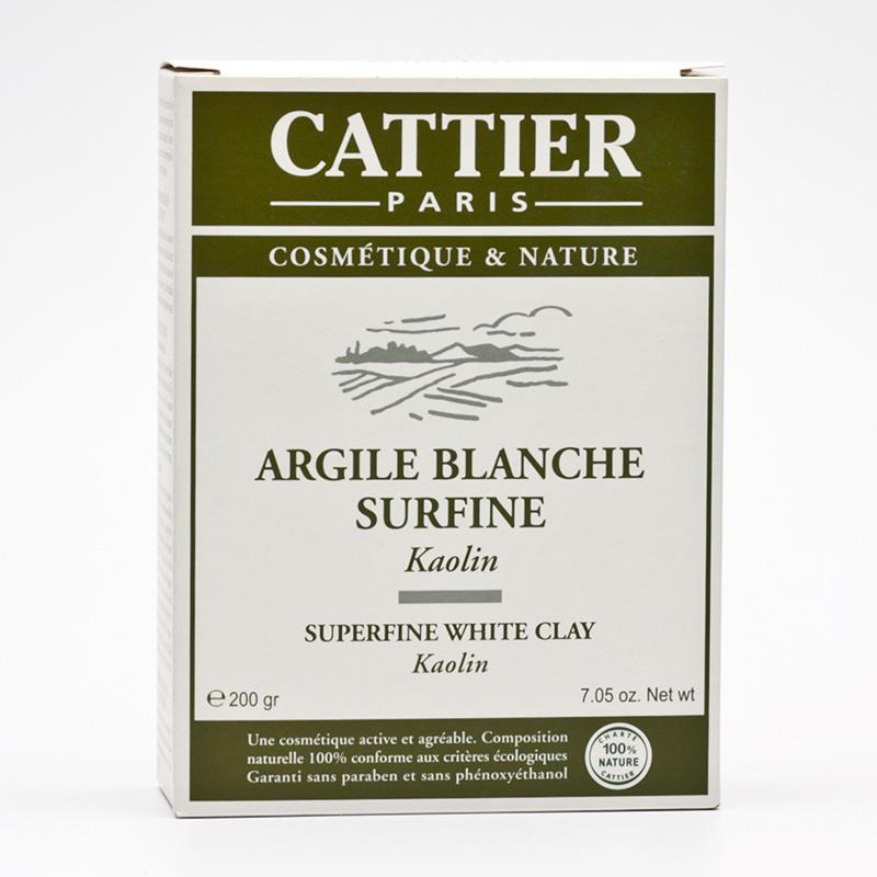 Cattier Bílý jíl jemný 200 g