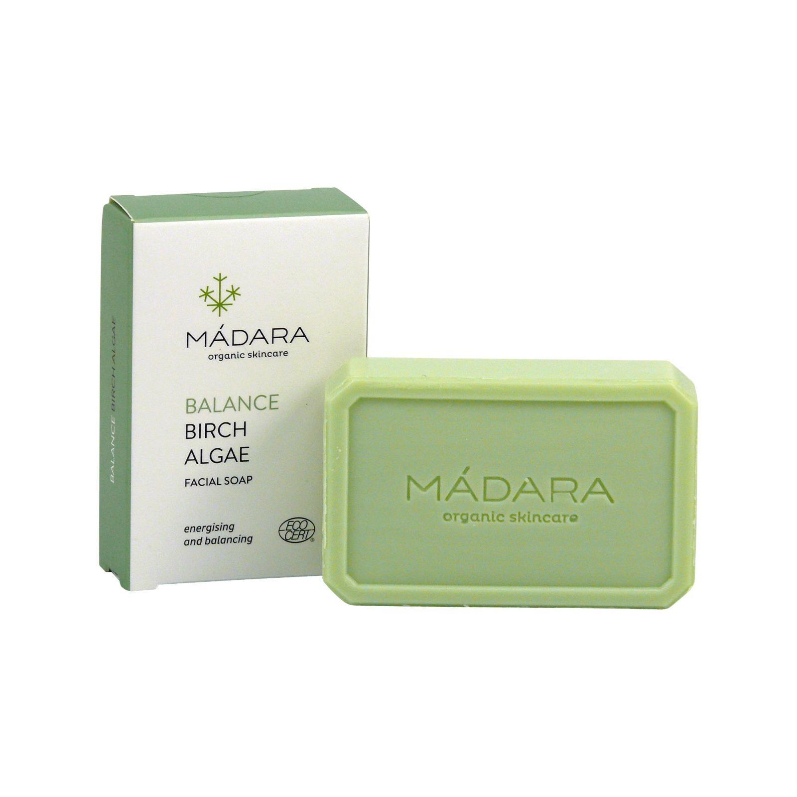 MÁDARA Pleťové vyrovnávací mýdlo, Balance 70 g