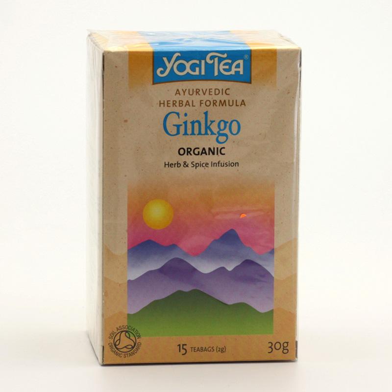 Golden Temple Čaj Yogitea Ginkgo 17 ks, 30 g