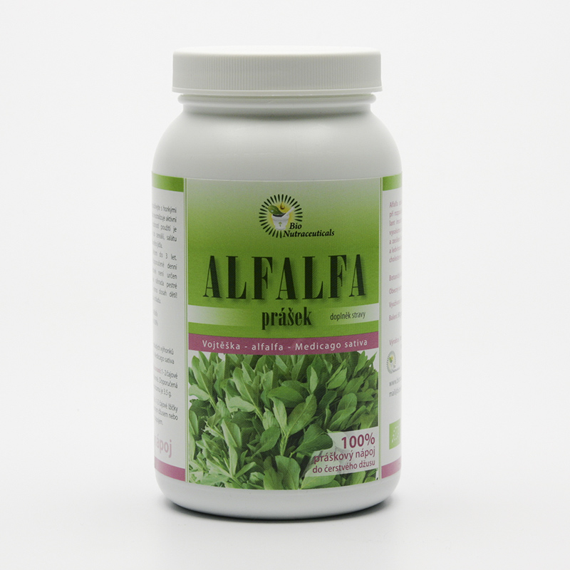 Bio Nutracare Alfalfa, prášek 80 g