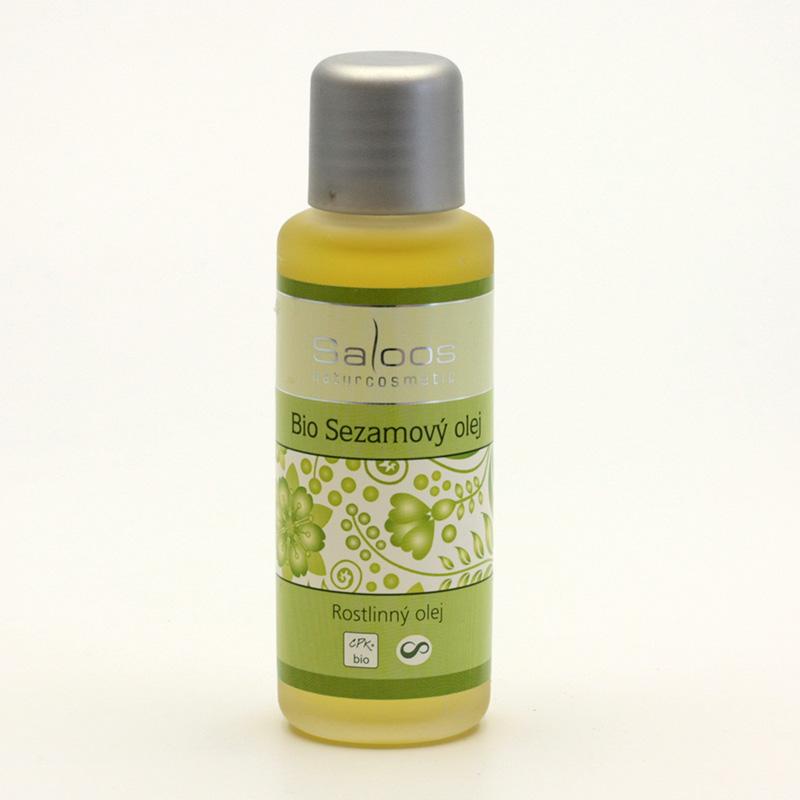 Saloos Sezamový olej, bio 50 ml