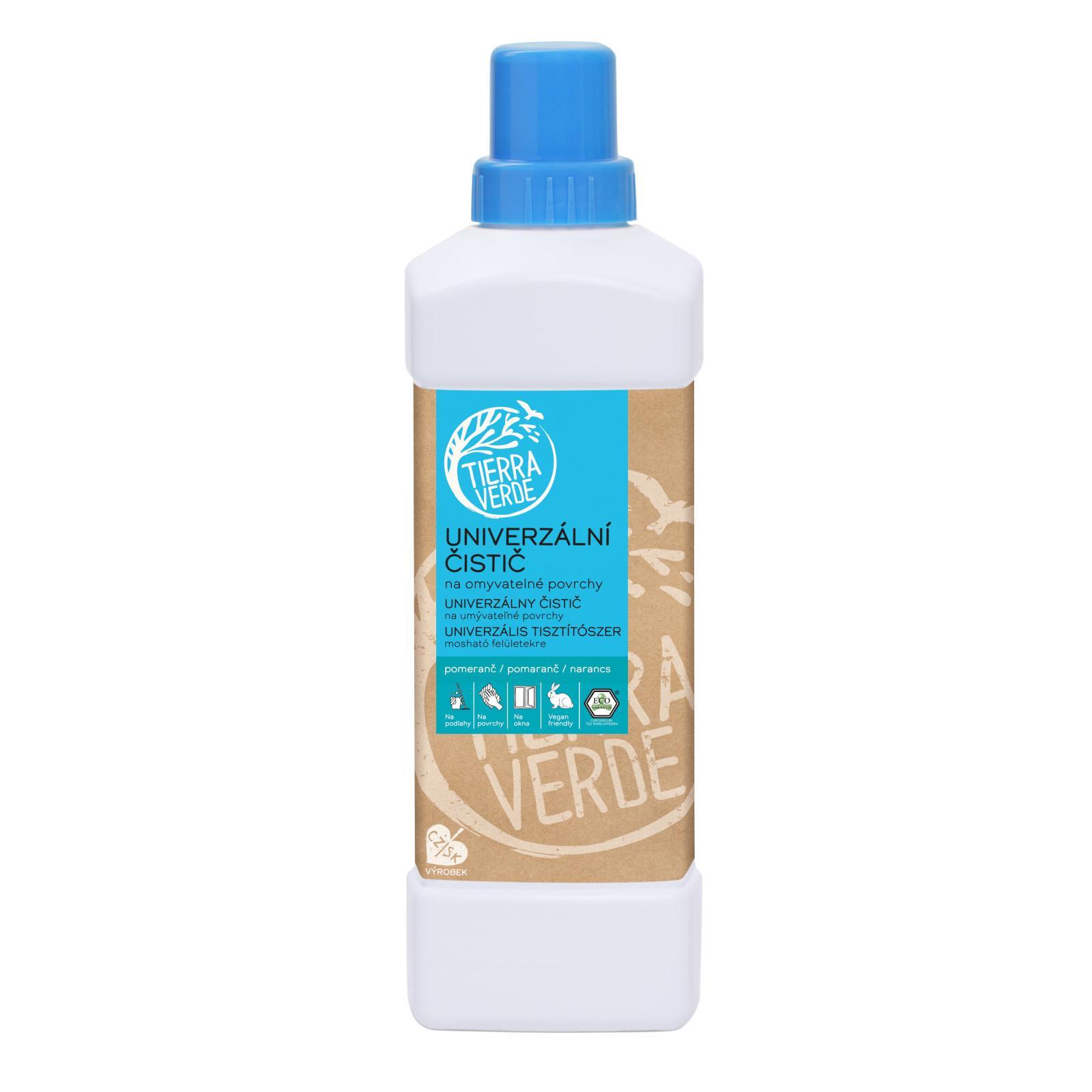 Yellow and Blue Univerzální čistič z mýdlových ořechů 1 l