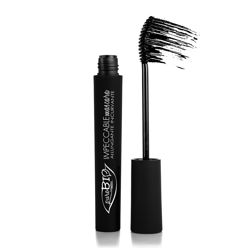 puroBIO cosmetics Řasenka prodlužující 01 Black 10 ml