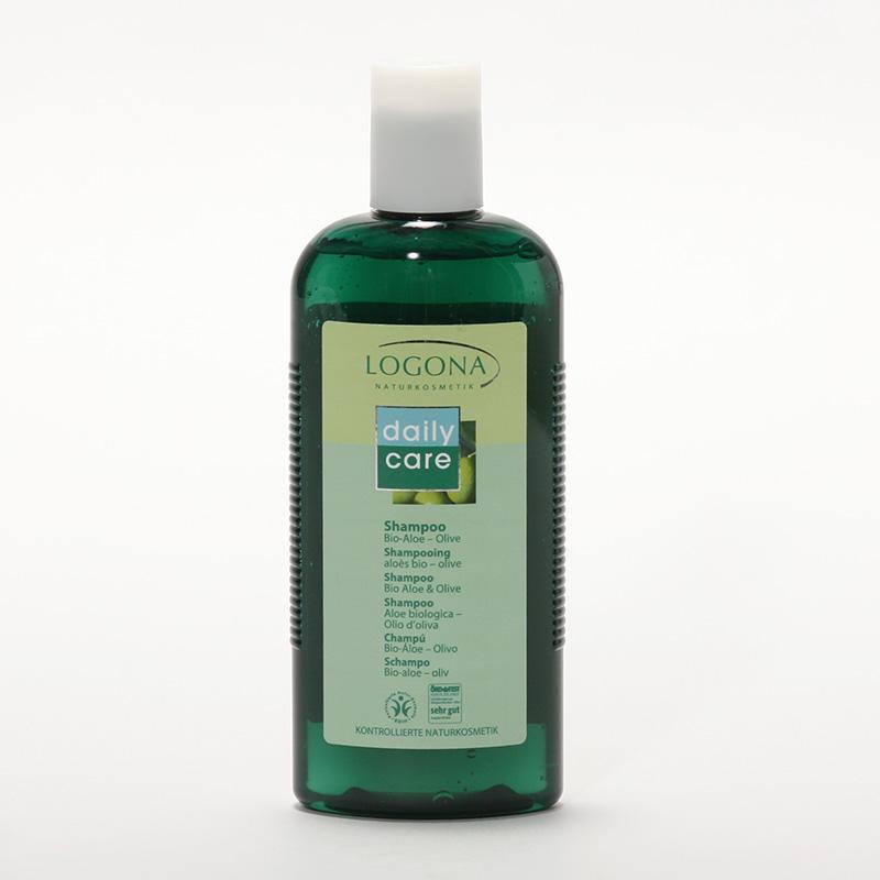 Logona Šampon bio aloe a oliva, Daily Care - vyřazen 250 ml