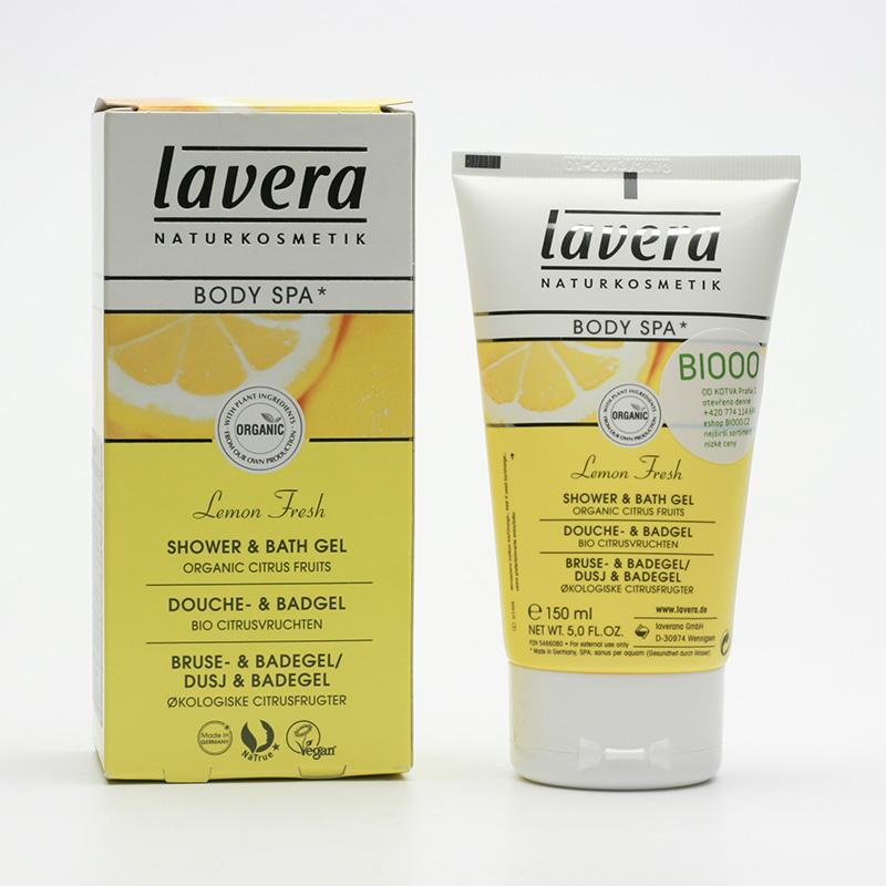 Lavera xxSprchový a koupelový gel citrusové plody, Body Spa 150 ml