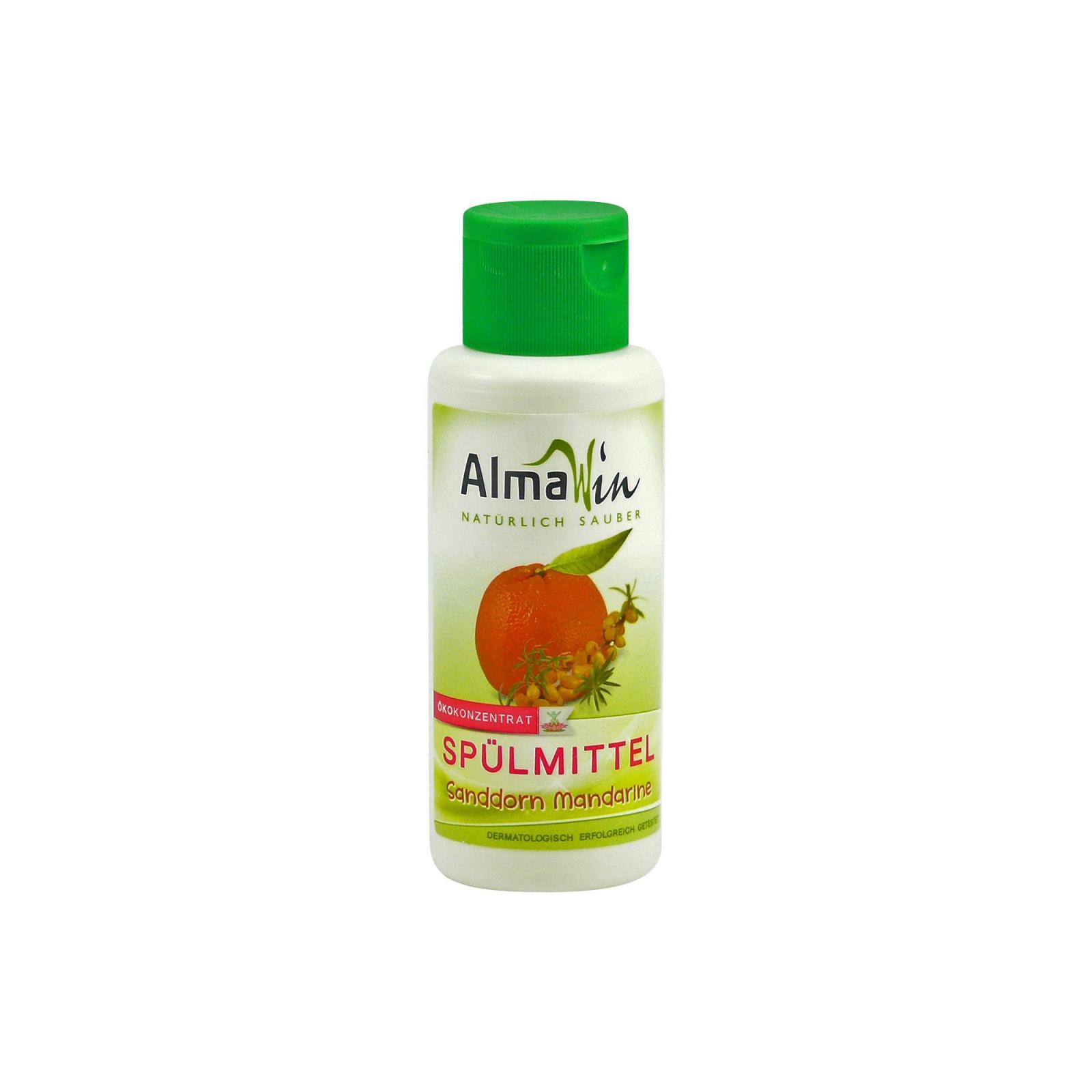 AlmaWin Prostředek na nádobí, bio rakytník & bio mandarinka 100 ml