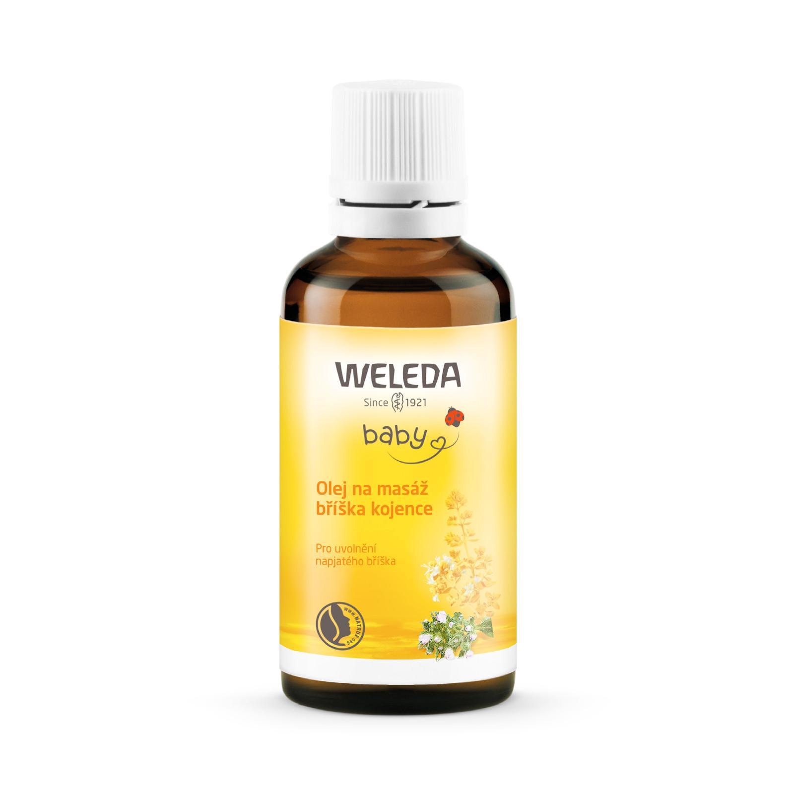 Weleda Olej na masáž bříška kojence 50 ml