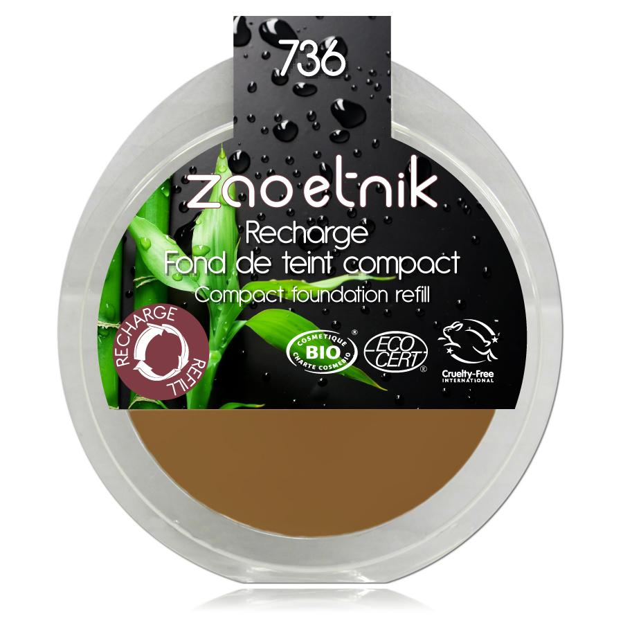 ZAO Kompaktní make-up 736 Topaz 6 g náplň