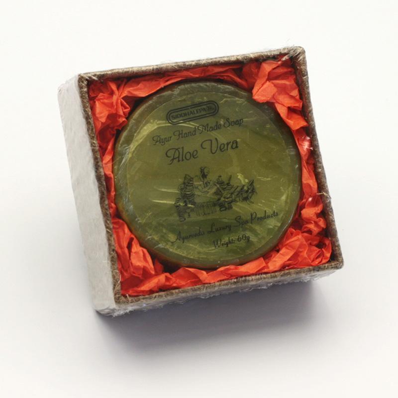 Siddhalepa Mýdlo Aloe vera, Ayurveda Luxury Spa 60 g